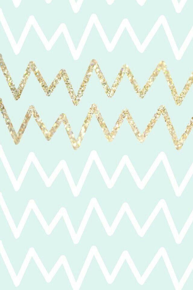 glitter chevron wallpapers - photo #2