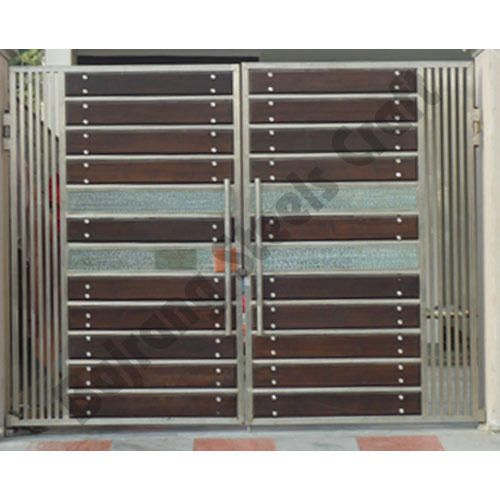 Stainless Steel Modern House Gate Designs: Pin By Wendel On Fachada / Portas / Portões / Grade