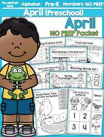 The Moffatt Girls: April NO PREP Packets!