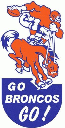 Denver Broncos Helmet History : denver, broncos, helmet, history, Denver, Broncos, History