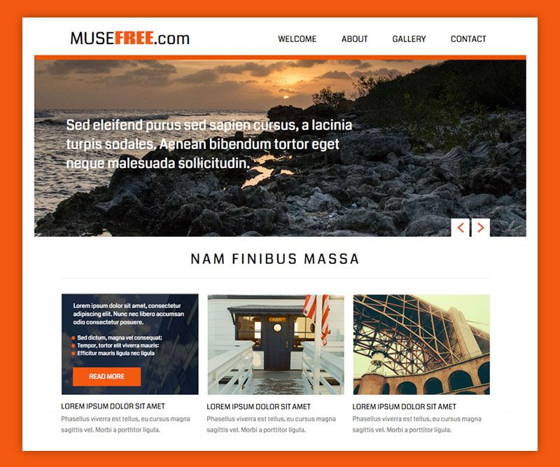 download free muse theme