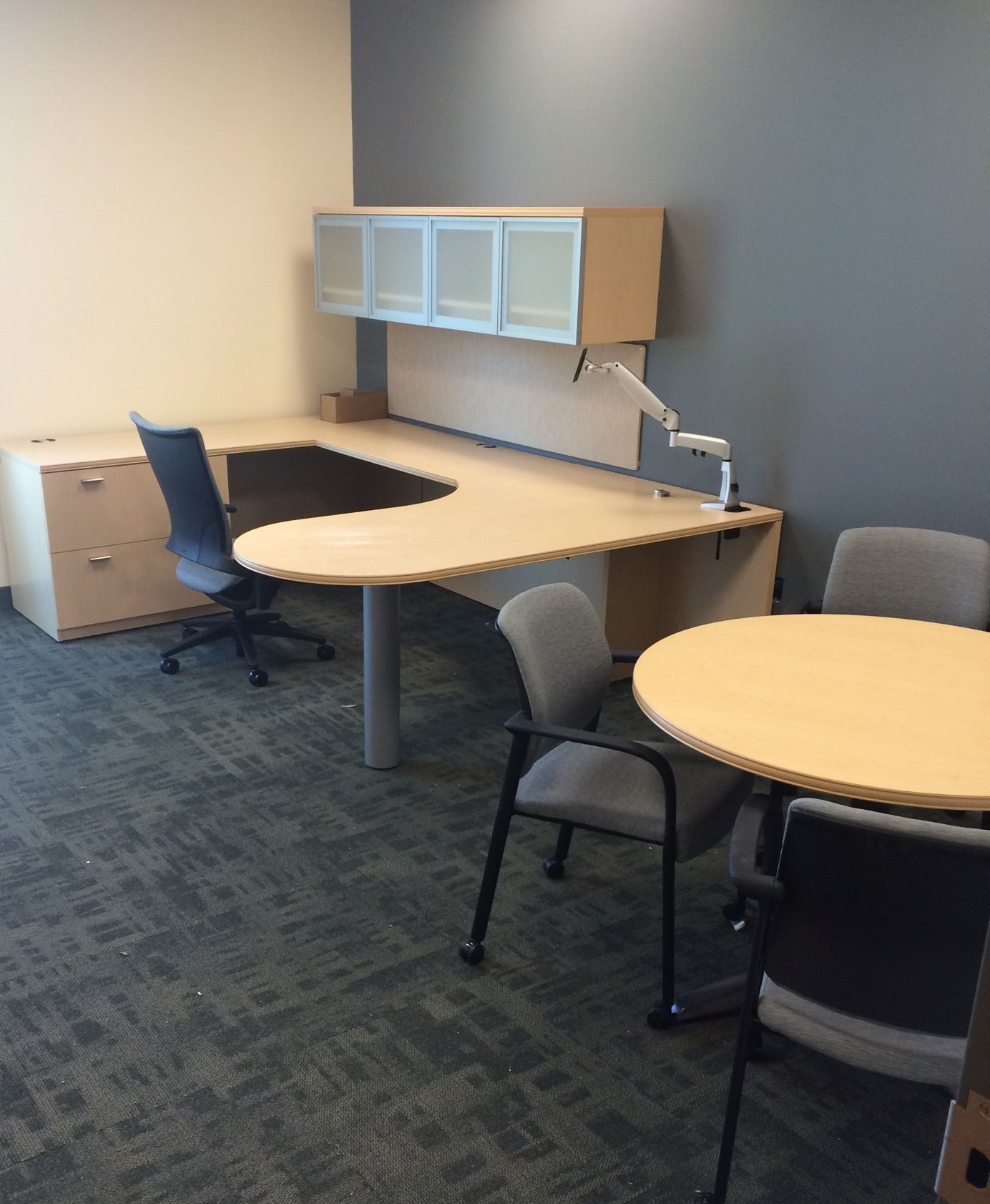 Corporate Office Installation Houston Tx By Cofco Office Furniture