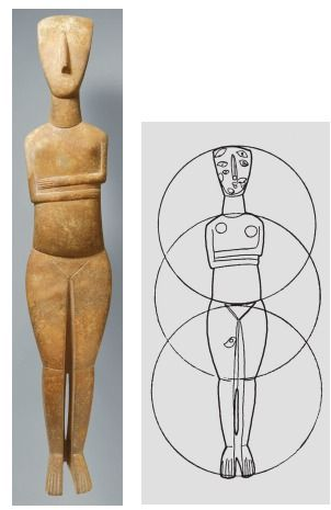 Figure Of A Woman C 2600 2400 Bce Marble Height 24 From Syros Via Quizlet Com Ancient Art Ancient Art