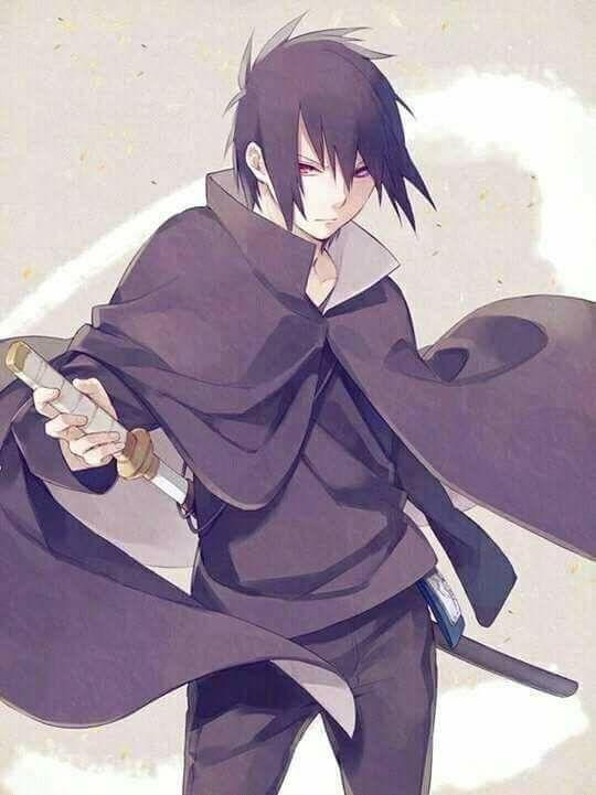 Sasuke Uchiha Wallpaper Sword Sharingan Black