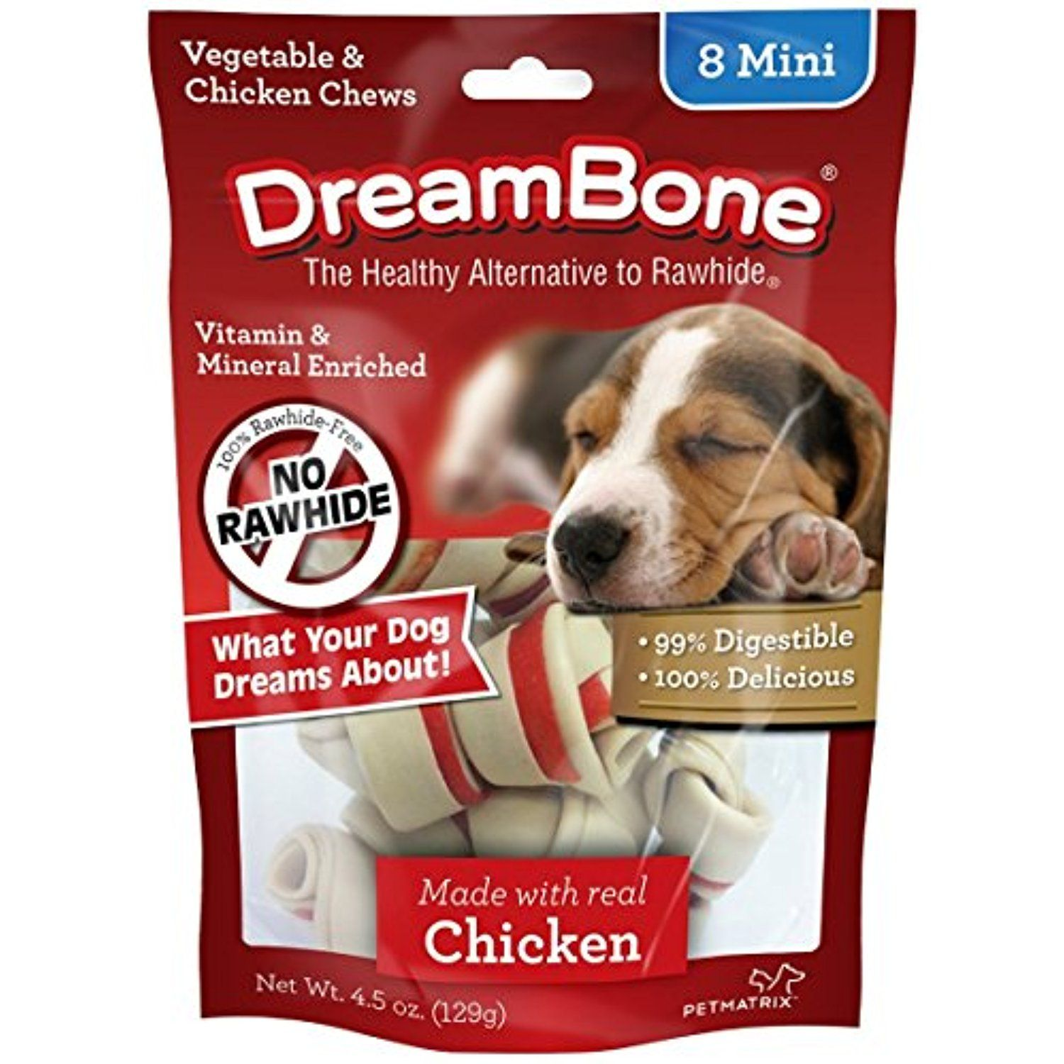 Dream Bones Mini Chicken Size 4 5z Dream Bones Mini Chicken 8ct 4 5z To Check This Awesome Product By Going To The L Chicken For Dogs Dog Chews Dog Rawhide