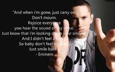 When I M Gone Quotes Eminem Google Search Eminem Quotes Go For It Quotes Im Gone Quotes