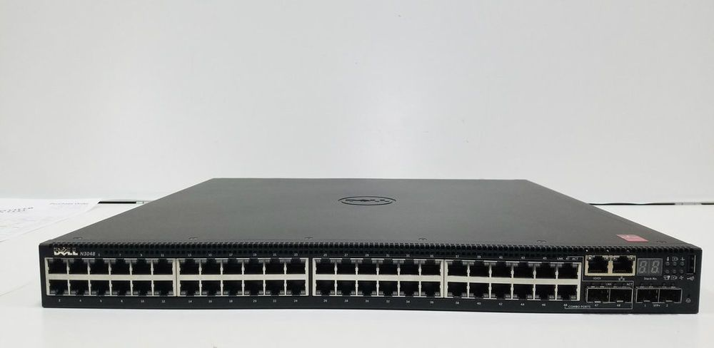 N3048 Dell Networking N3000 Series 1gbe Layer 3 Switch 10gbe Networking Switch Dell