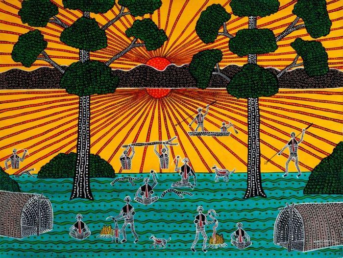 Robert Campbell : Australian Art : Giver of Life 1986