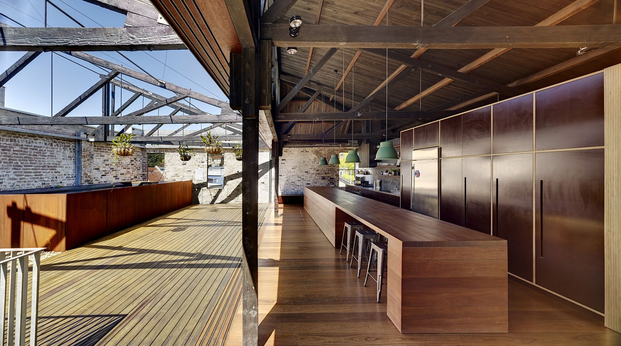 Think A Stunning Warehouse Conversion In Sydney, Two Holistically Sustainable