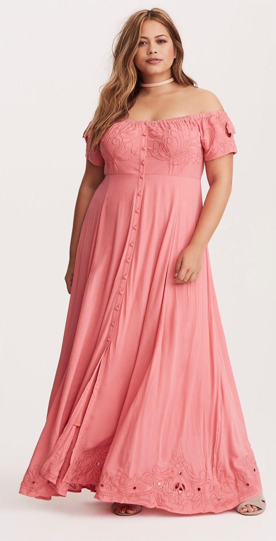 Plus Size Maxi Dress | plus size hippie | Pinterest | Tallas grandes ...