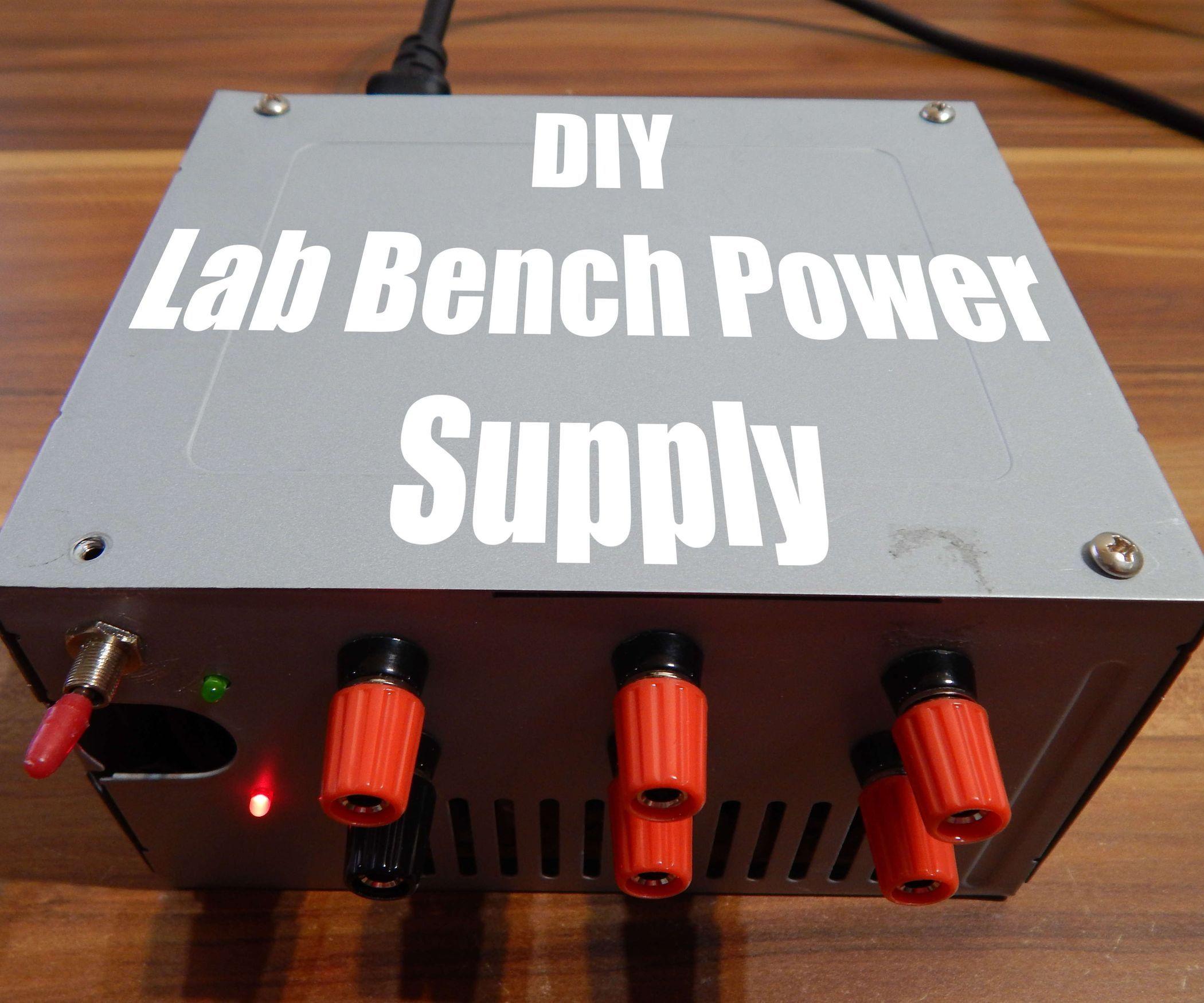 DIY Lab Bench Power Supply Power supply circuit