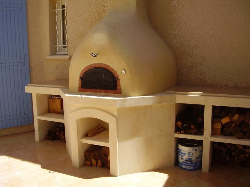 Pose installation Cuisine du0027été - Barbecue pierre de taille Alès - cuisine d ete en pierre