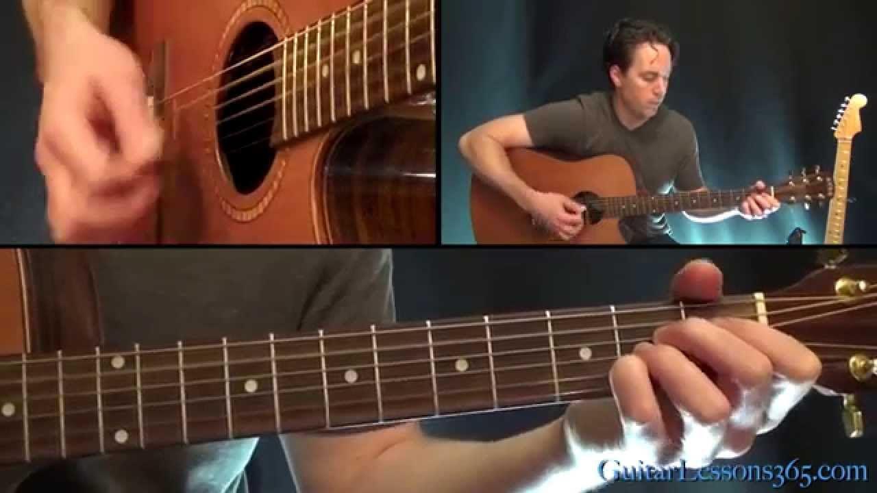 Crazy On You Guitar Lesson Pt2 Heart Acoustic Rhythms