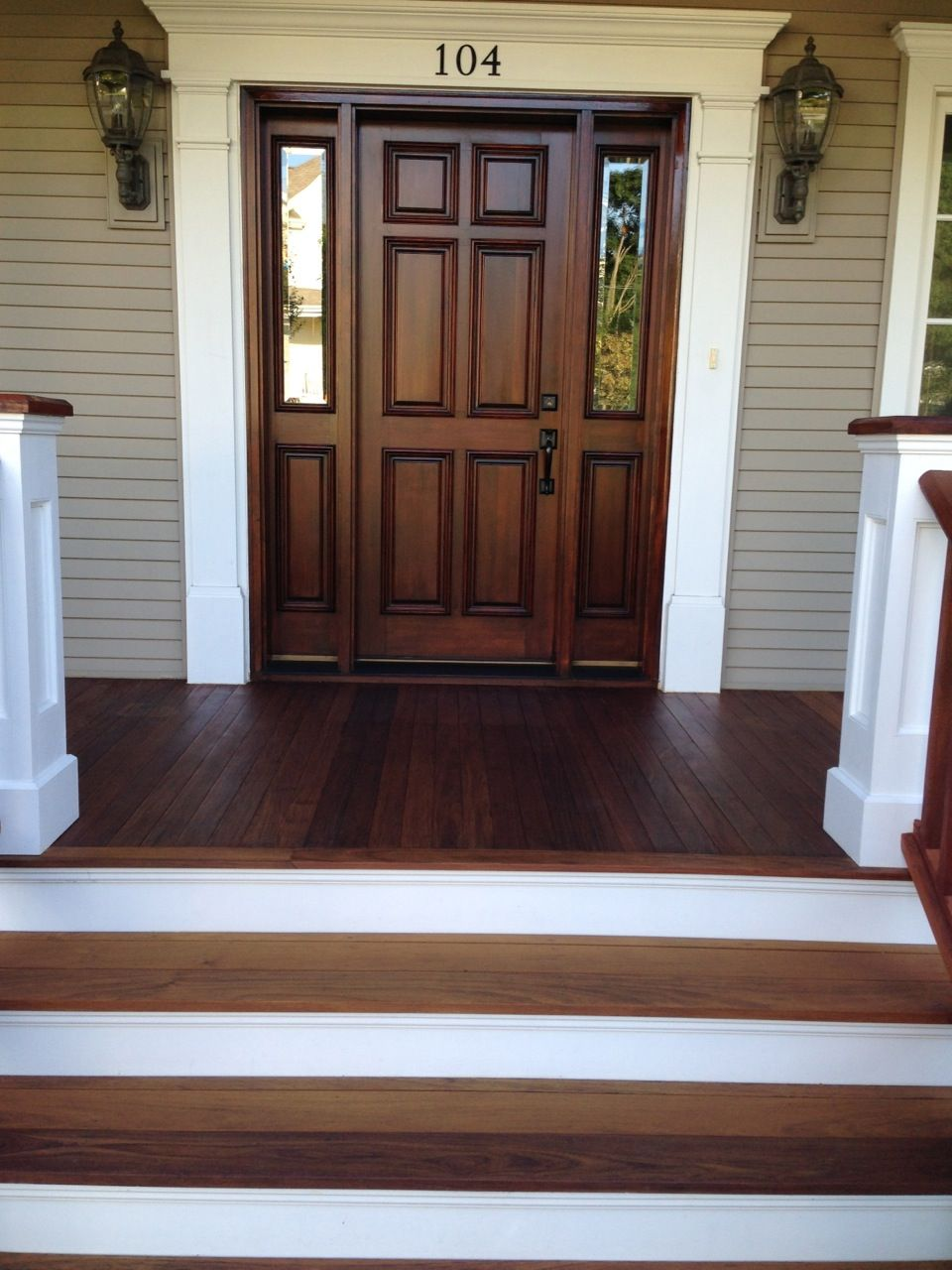 Best Ipe Wood Decking 2 House Exterior House Front Porch 640 x 480