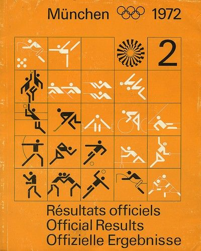 graphic design of olympics 1972 - Google Search