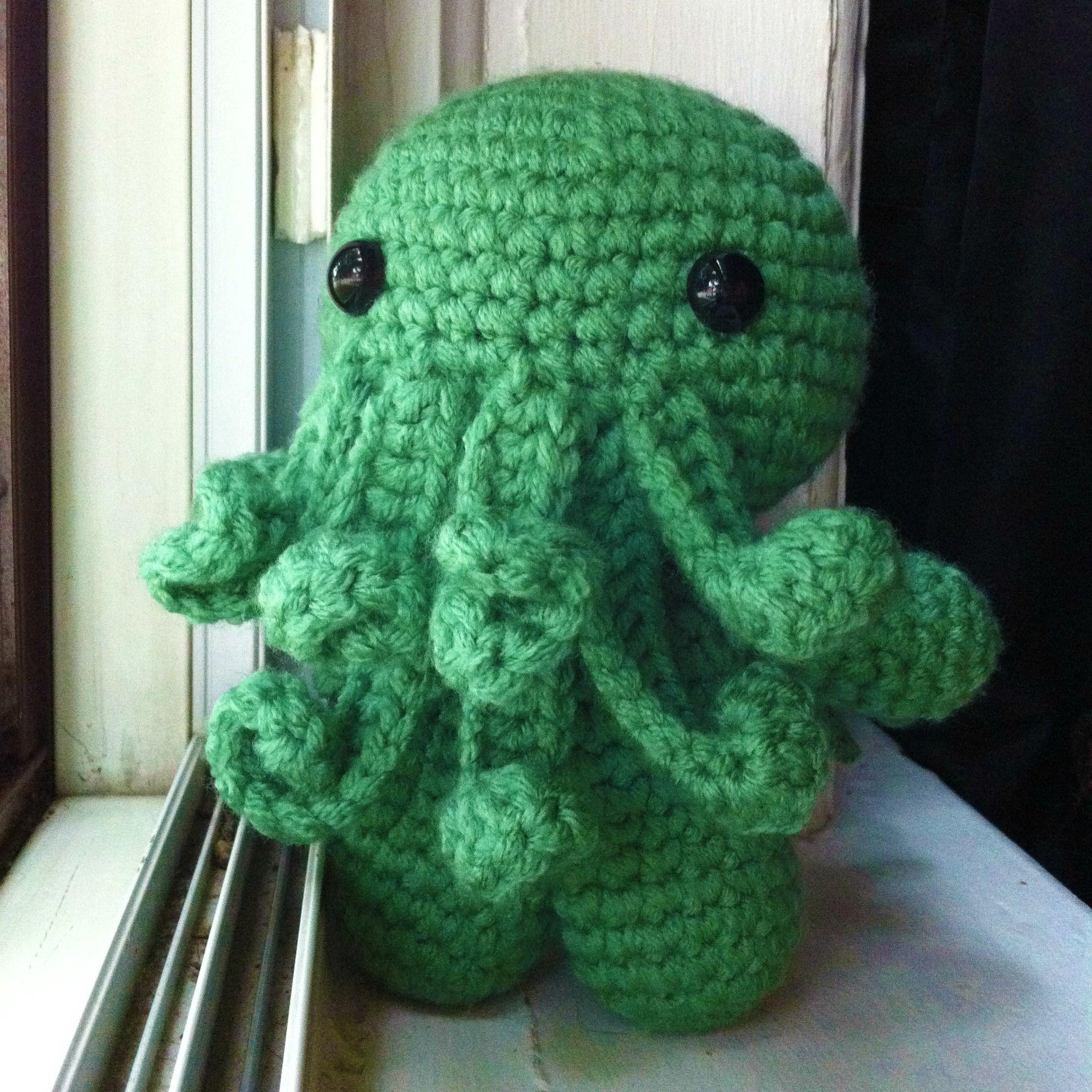 Free Pattern Friday Cthulhu Crochet Amigurumi Pinterest