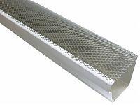 Shop Hinged K Style Steel Gutter Screen Gutter Screens Aluminum Hinges Gutter