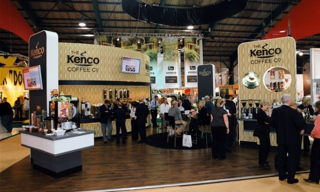 Exhibition Stand Coffee : Kenco bespoke exhibition stand seek design exhibition design