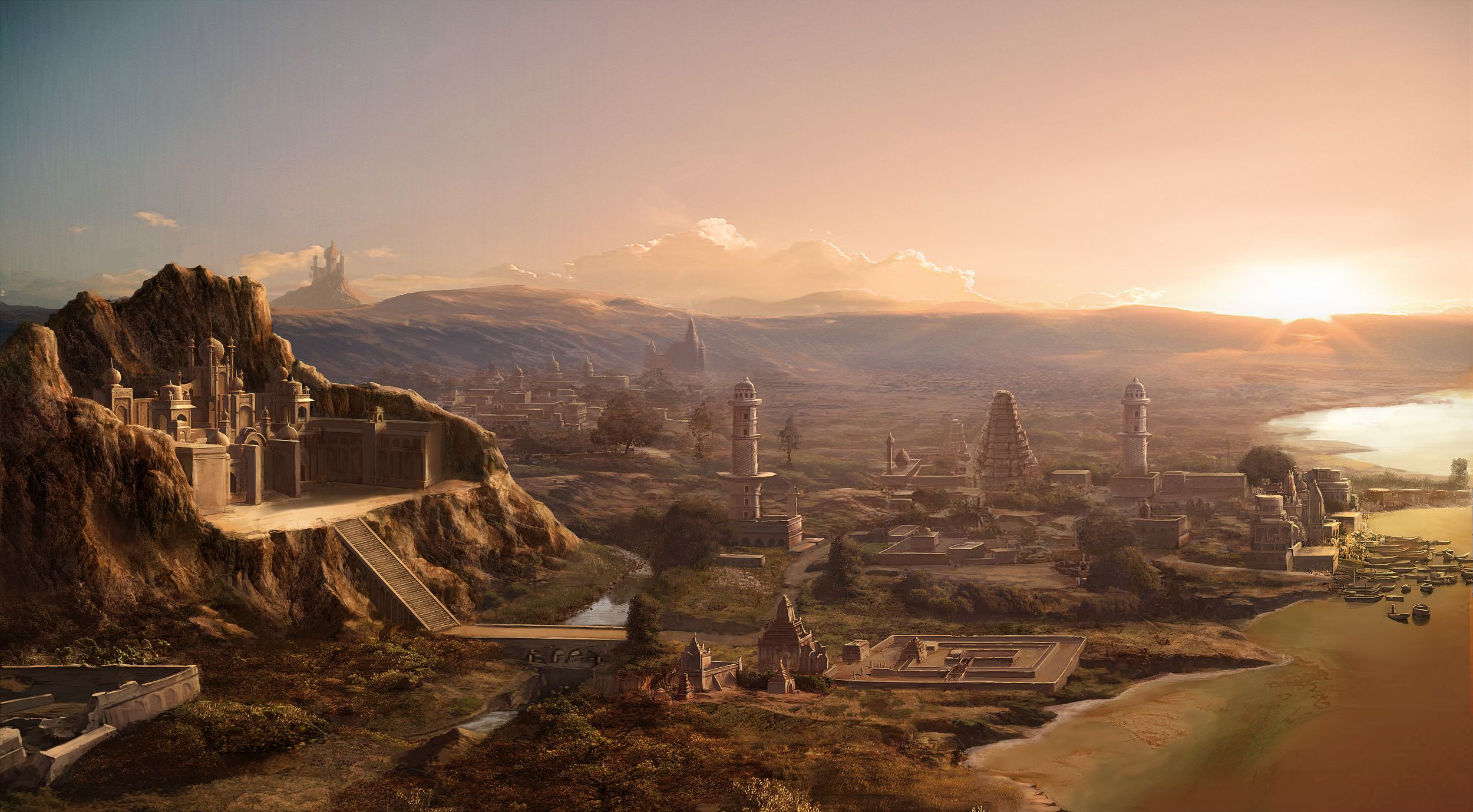 Epic Fantasy Landscape Wallpapers