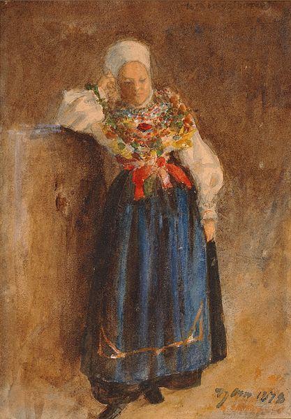 Anders Zorn (1860-1920) A Ball in Folk Dress