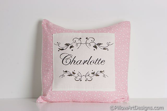 Baby Pillows Pillow Art Designs Personalized Baby Name Pillow