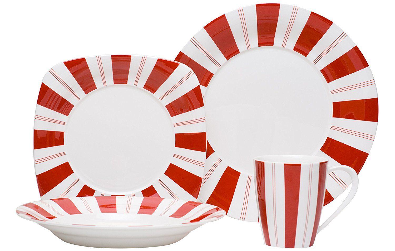 Peppermint Christmas Dinnerware Sets Christmas Wikii Peppermint