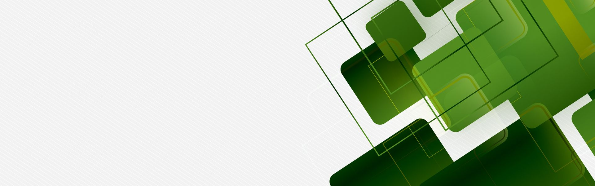 Business Geometric Abstract Background Banner Green Rectangle
