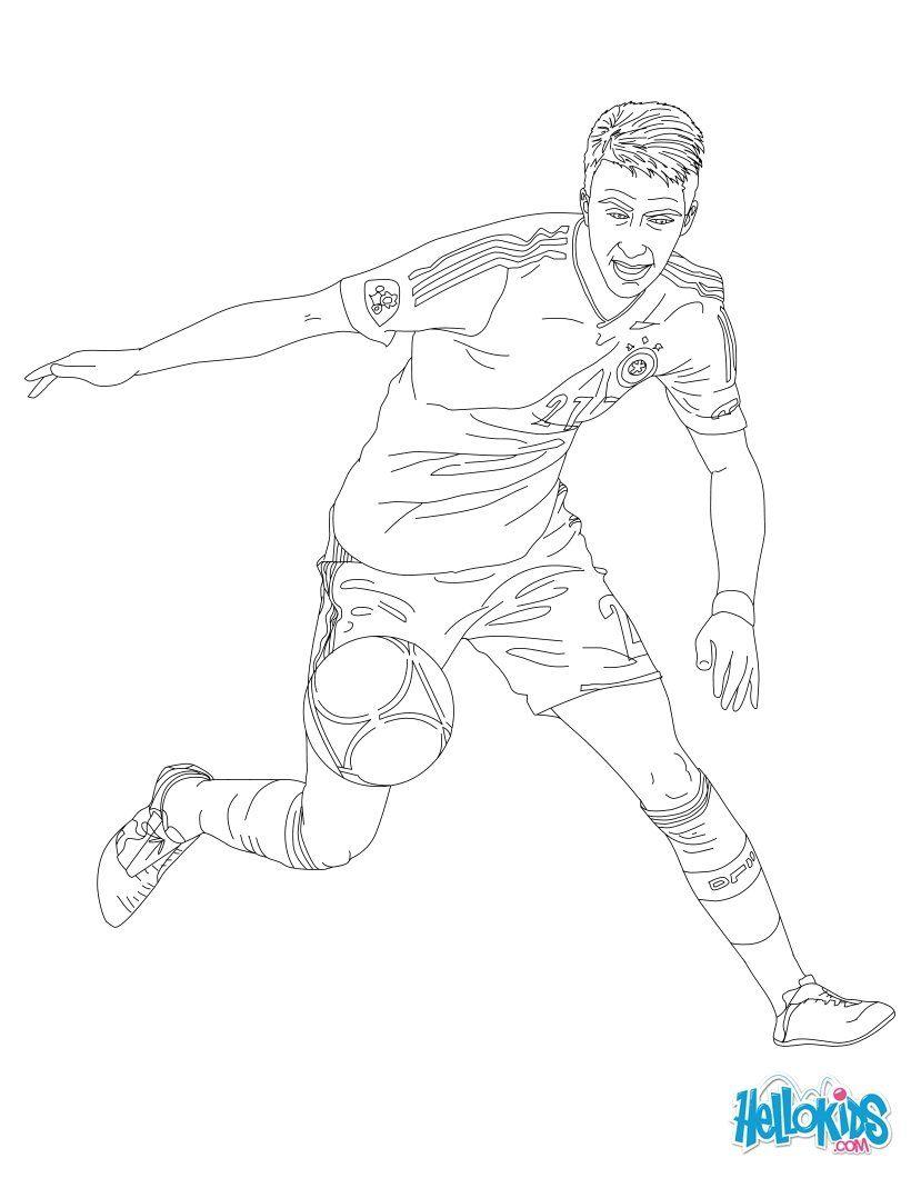 Marco Reüs Ausmalbilder Coloring Pages Marco Reus Und Soccer