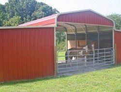 Turn a Carport Into a Barn | Diy carport, Horse barns ...