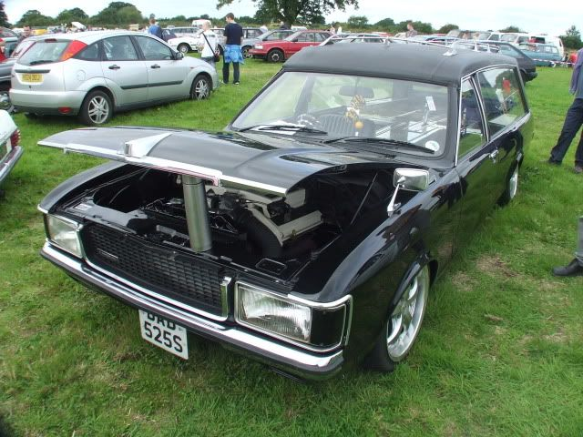 Image detail for -... black thing is a MK1 Ford Granada ...