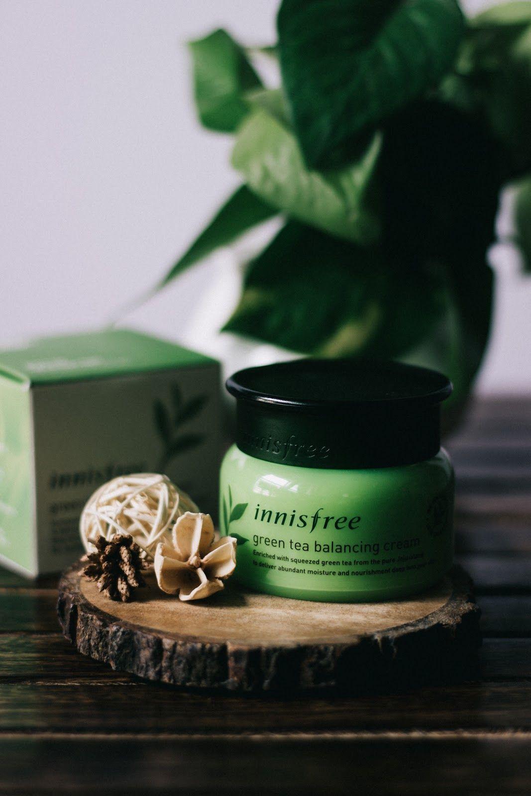 Wildfire Charm Korean Beauty Innisfree Green Tea Balancing Cream For Combination Skin Produk