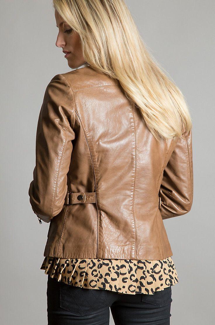 Leather moto jacket, Jackets, Lambskin