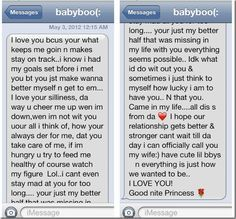 Cute long texts for her