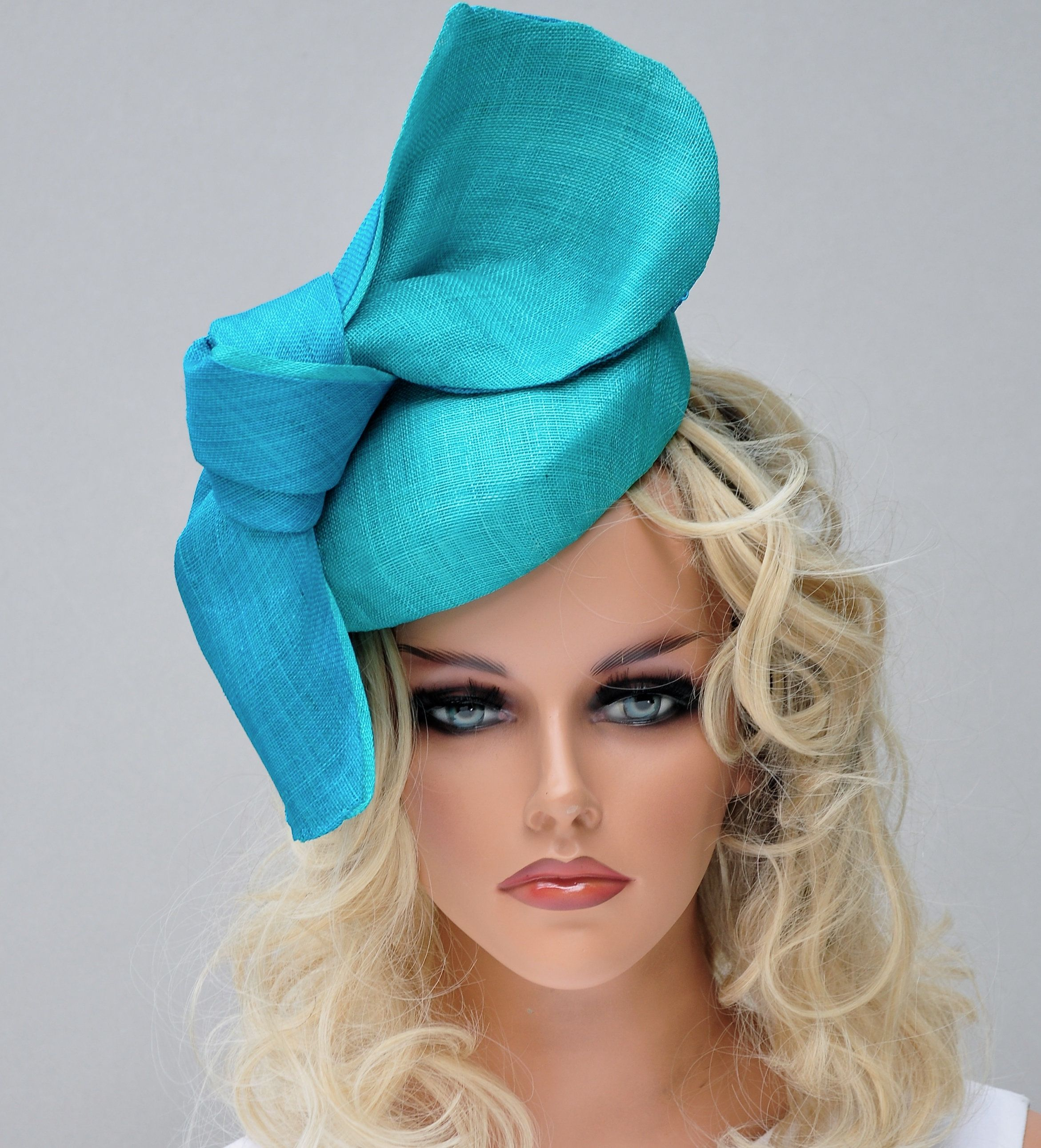 Women Ladies Elegant Flower Net Hat Hair Accessories Hat Dress Hat Glove Costume