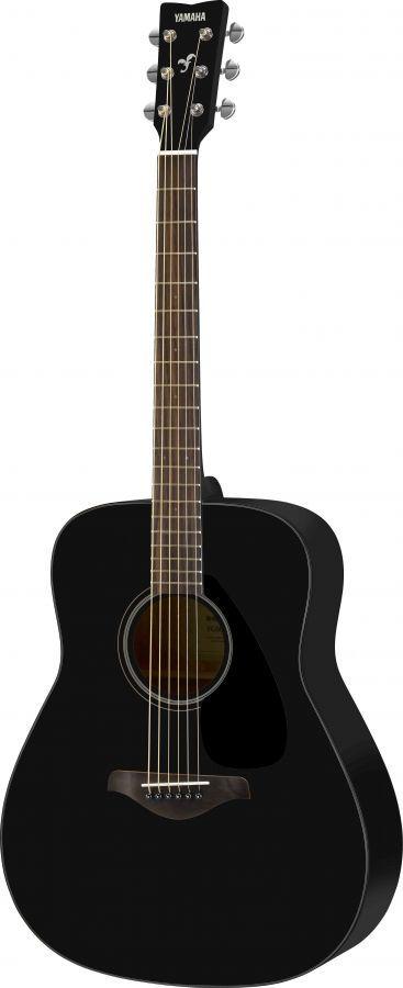 Yamaha Fg800 Acoustic Guitar In Black Finish Acoustic Guitar Strings Yamaha Guitar Black Acoustic Guitar