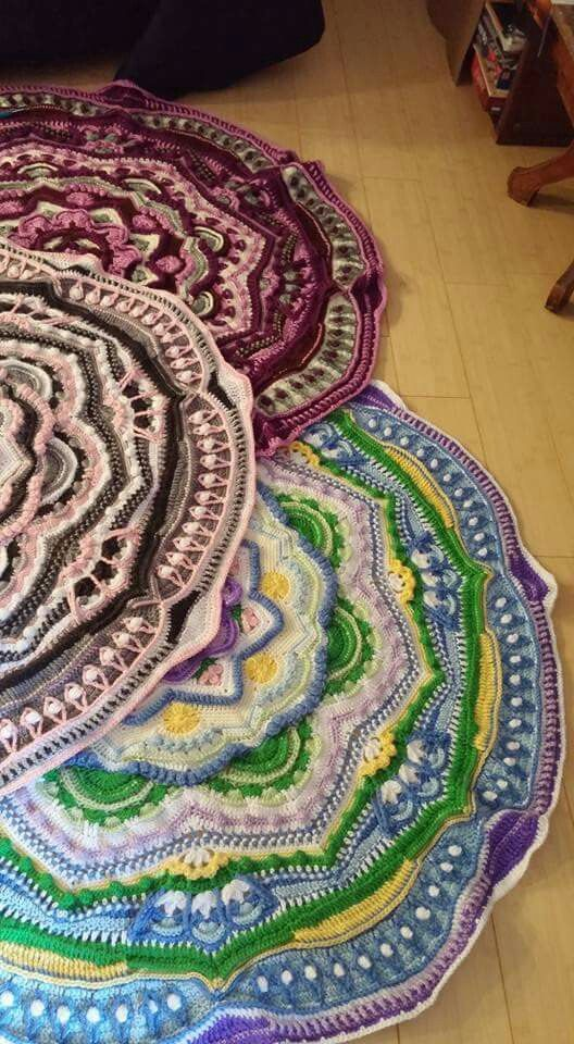 Mandala Madness - Free Pattern on Ravelry these one by K. Reynolds ...