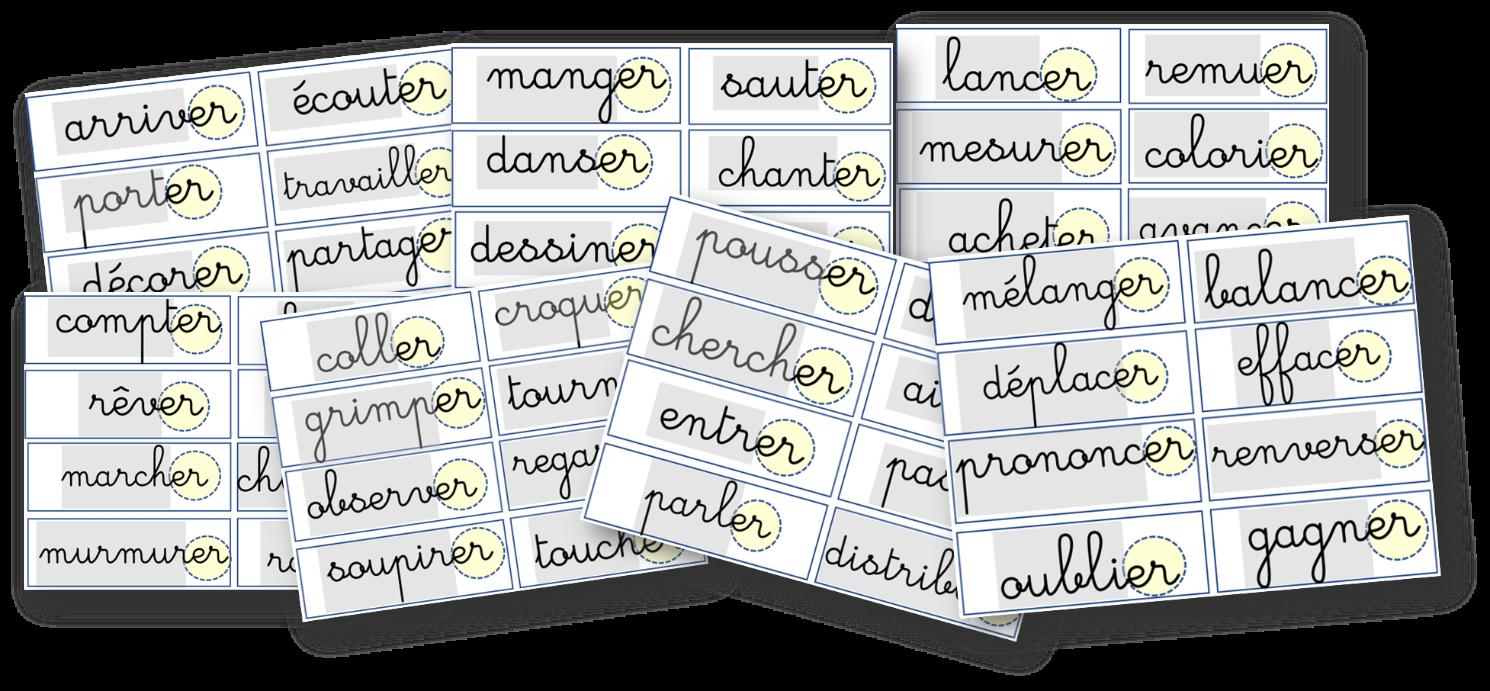 Conjugaison Verbes En Er Au Present Recreatisse Conjugaison Verbe Verbes Francais