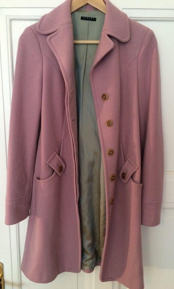 Herbst Mantel von SISLEY Size 40 (altrosa)