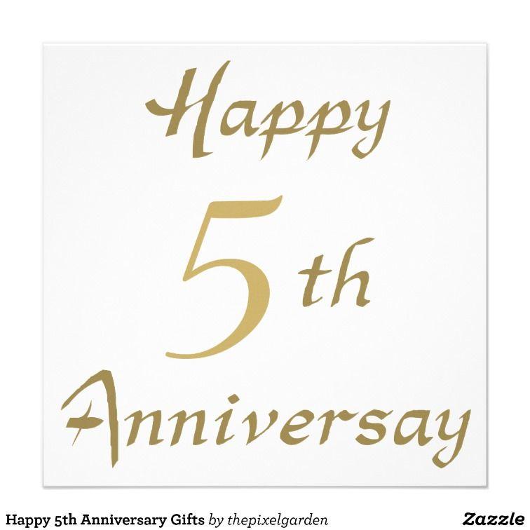 5th Wedding Anniversary Ideas