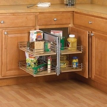 Turn That Huge Base Cabinet Into An Easy To Access Storage System With KVu0027s