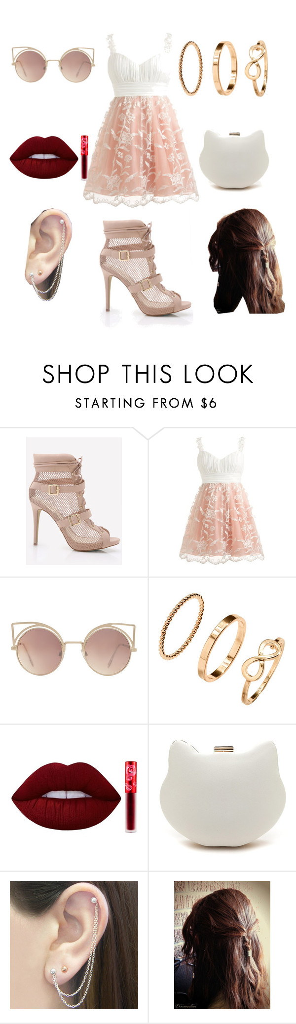 """Fab Roleplay is party"" by info-chan ❤ liked on Polyvore featuring MANGO, H&M, Lime Crime and Otis Jaxon"