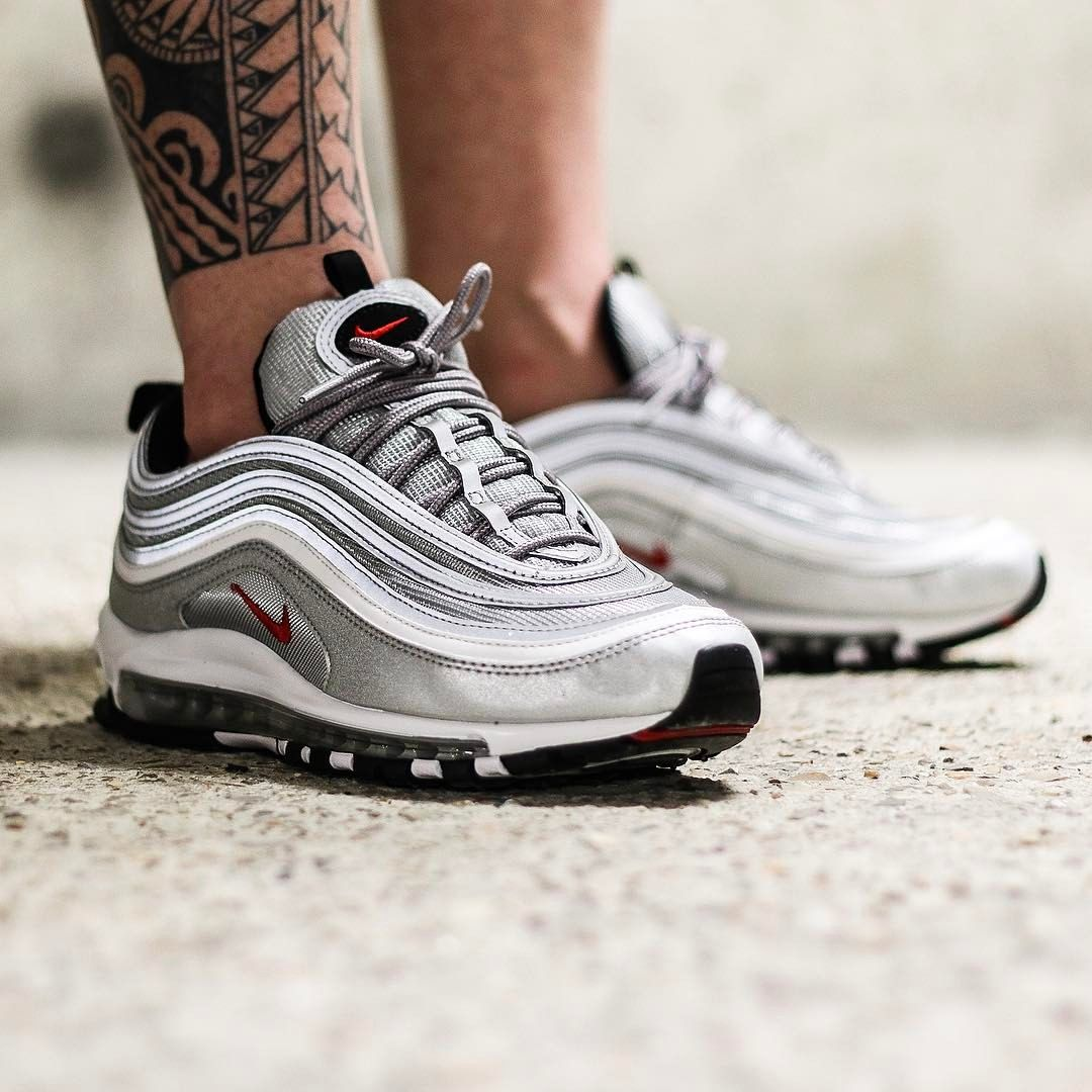 Women's Cheap Nike Air Max 97 OG 'Metallic Silver'. Cheap Nike⁠+ Launch NL