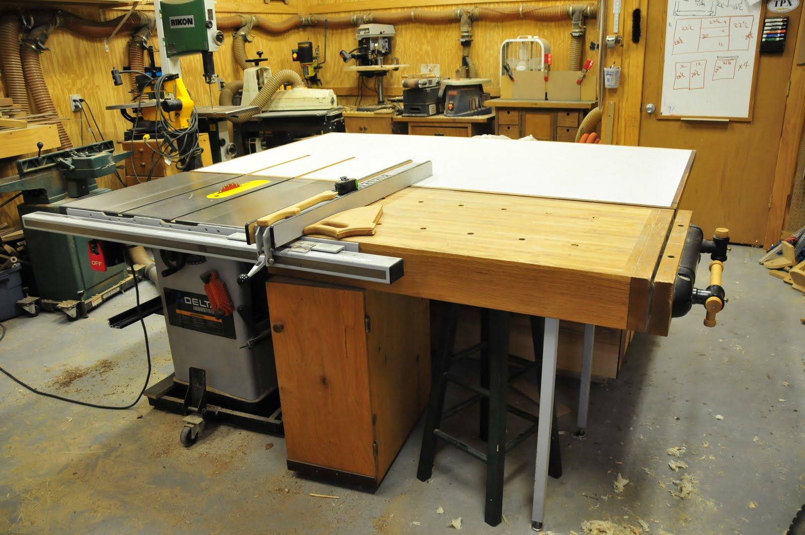 Treefrogfurniture A New Assembly Table Assembly Table Woodworking Table Saw Woodworking Plans