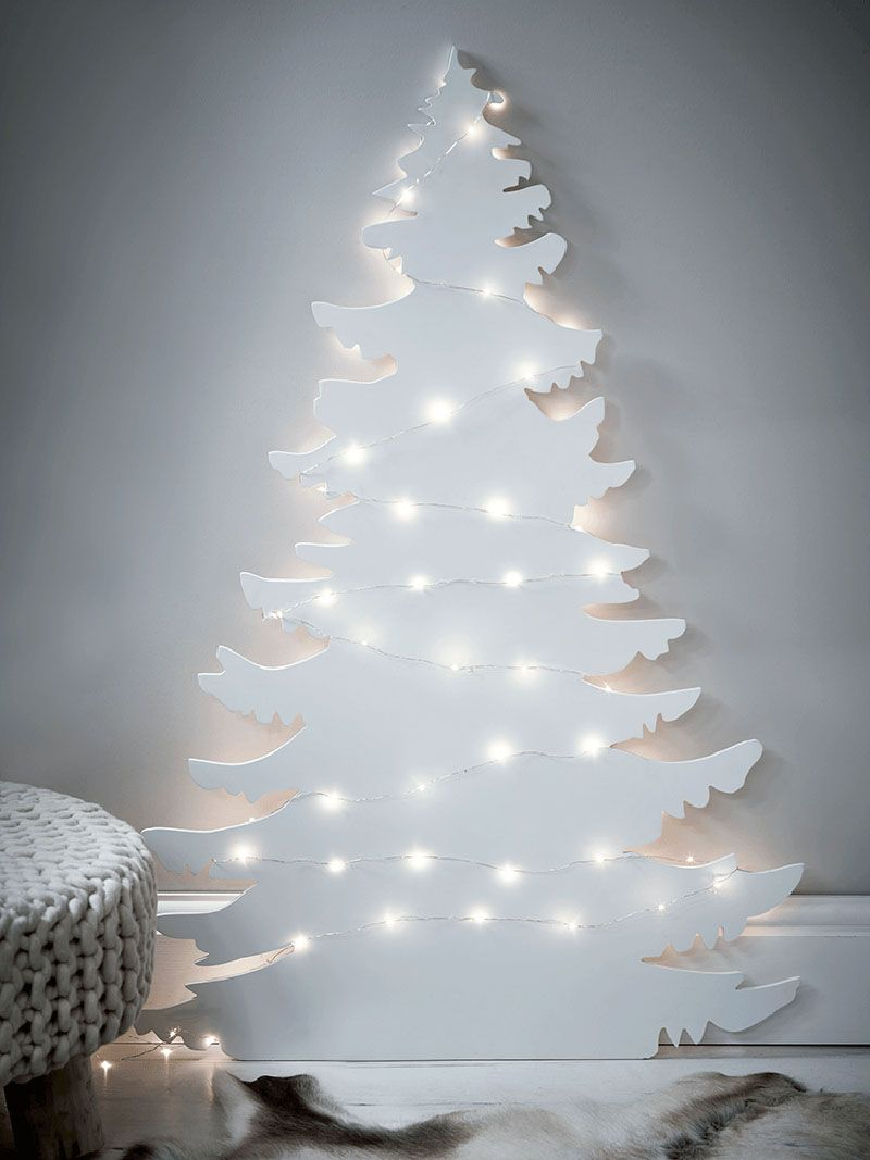 Sapin De Noel Sur Le Mur modern christmas decor ideas are all style and chic