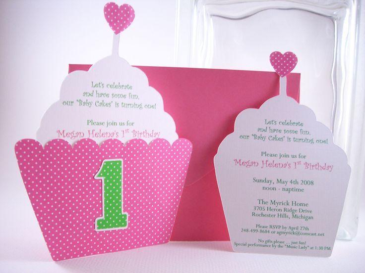 Einladungskarten Geburtstag Einladungskarten 1 Geburtstag