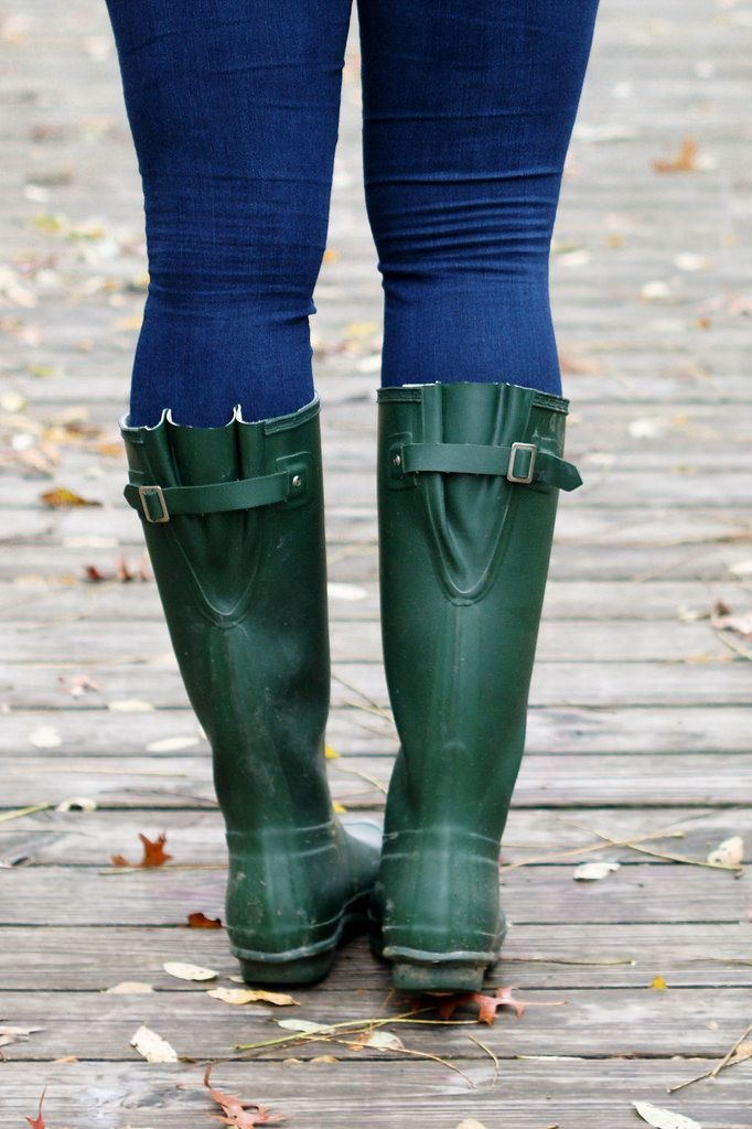 hunter boots for thicker calves | Boots