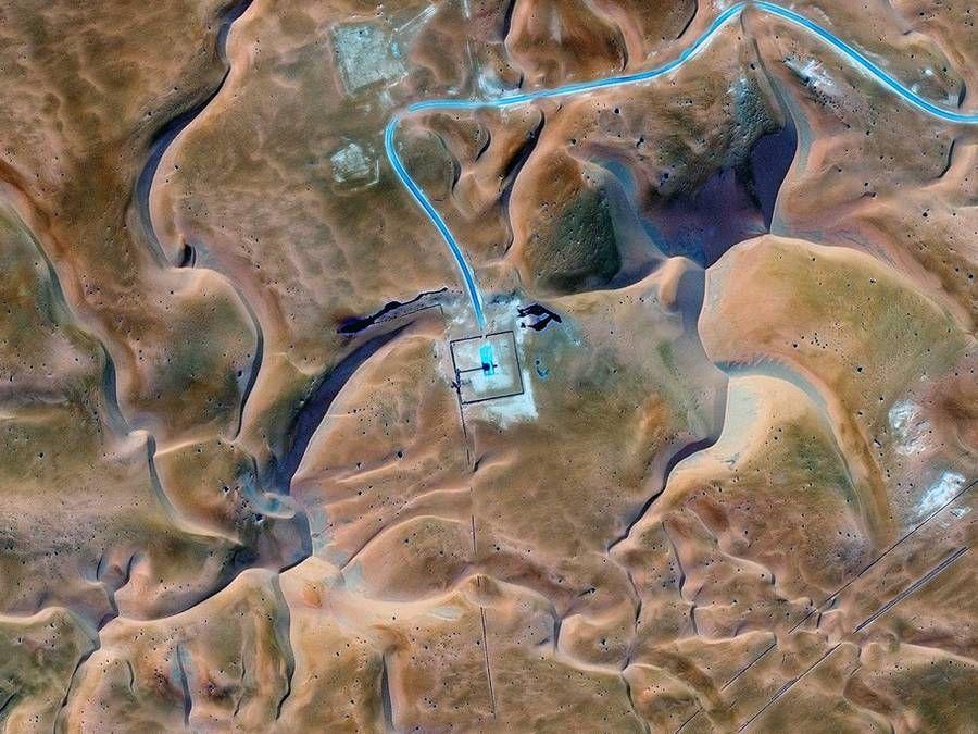 Alien Landscapes Aerial Photography