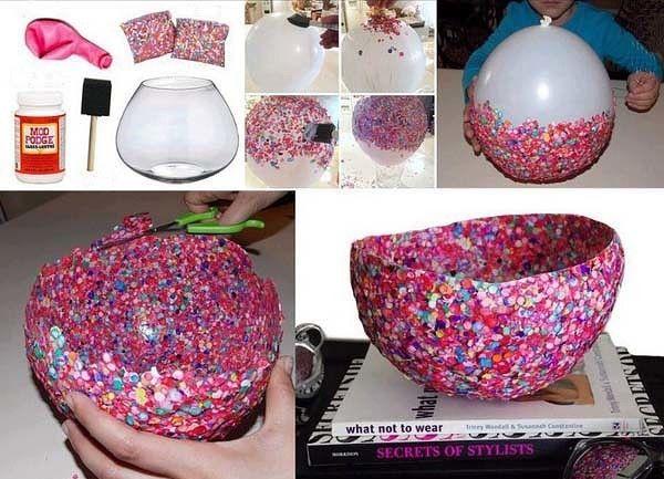 idées impressionnant de bricolage facile avec des ballon | tutu