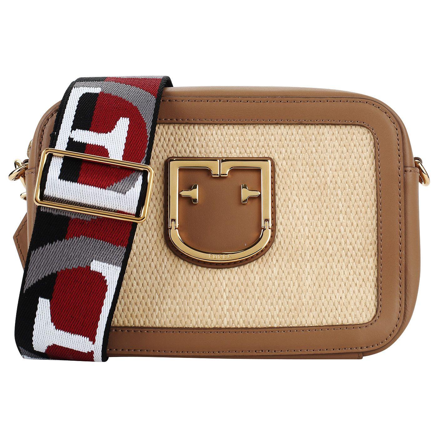 fad252f51e67 По-настоящему летняя сумка с ярким ремешком. Широкий плечевой ремешок  гарантирует удобство при носке