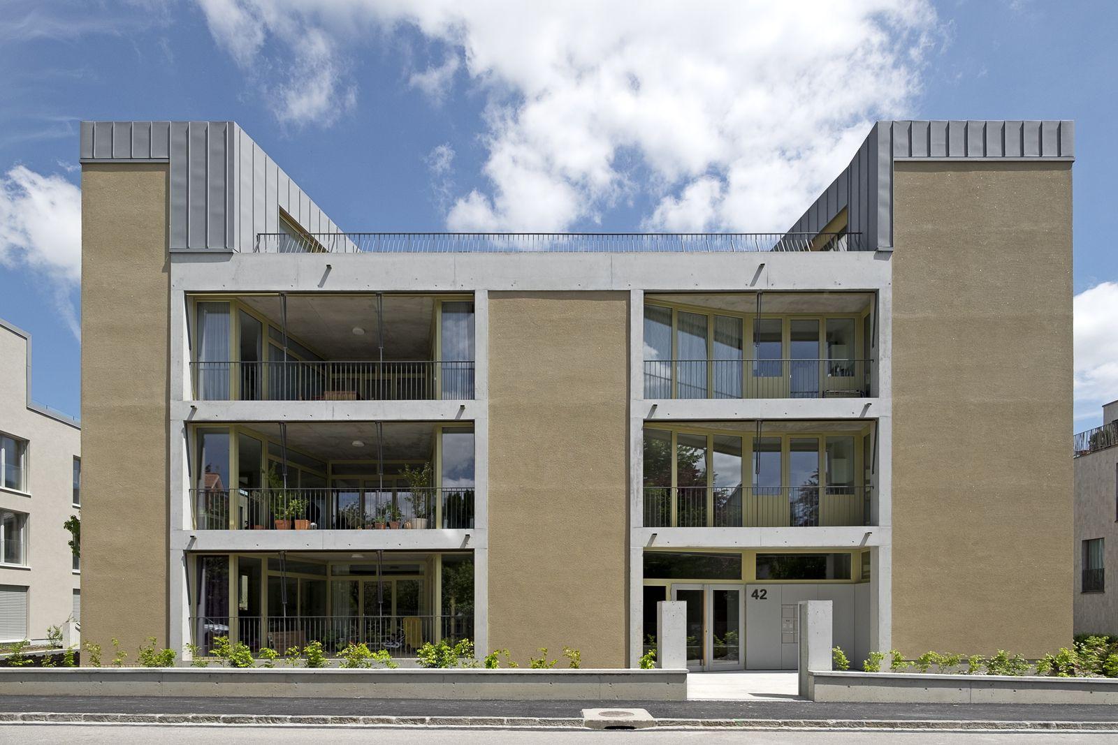 """Wundervoll Fassade Haus Dekoration Von """"pensimo"""" - Wohnhäuser Schönberg-ost, Bern - Esch"""